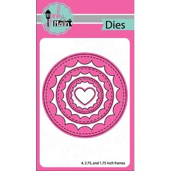 Pink and Main REVERSE SCALLOP CIRCLES Dies PNM223
