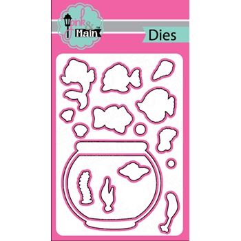 Pink and Main FINTASTIC Dies PNM219