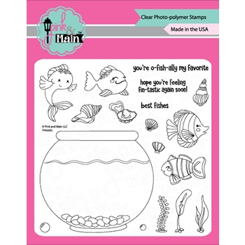 Pink and Main FINTASTIC Clear Stamps PM0342
