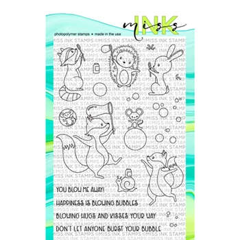 Miss Ink Stamps BUBBLES Clear Set 519st01