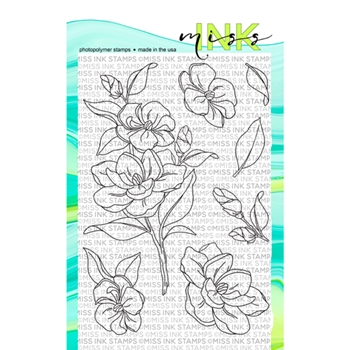 Miss Ink Stamps GARDENIA Clear Set 519st05