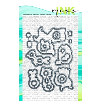 Miss Ink Stamps BUBBLES Coordinating Die Set 519dd01