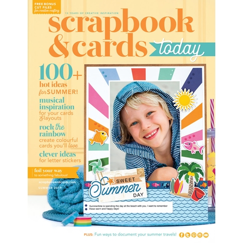 Scrapbook & Cards Today Magazine SUMMER 2019 Issue sctsu19 Preview Image