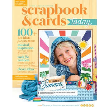 Scrapbook & Cards Today Magazine SUMMER 2019 Issue sctsu19