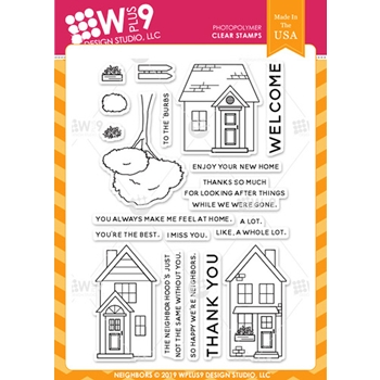 Wplus9 NEIGHBORS Clear Stamps cl-wp9nei