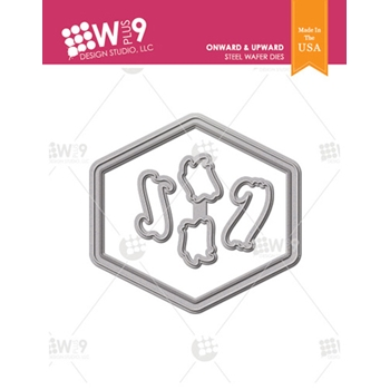 Wplus9 ONWARD AND UPWARD Designer Dies wp9d-0231