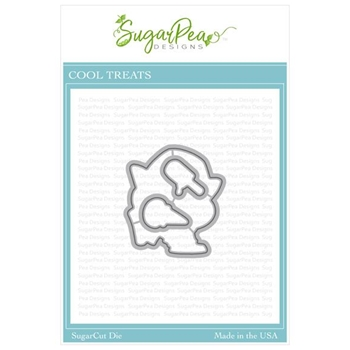 SugarPea Designs COOL TREATS SugarCuts Dies spd-000368