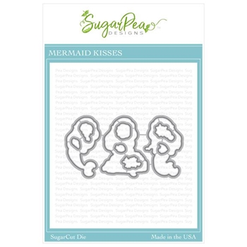 SugarPea Designs MERMAID KISSES SugarCuts Dies spd-000365