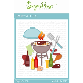 SugarPea Designs BACKYARD BBQ SugarCuts Dies spd-000363