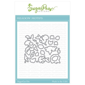 SugarPea Designs MEADOW MOTIFS SugarCuts Dies spd-00354