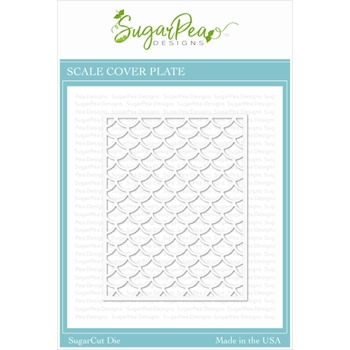 SugarPea Designs SCALE COVER PLATE SugarCuts Die spd-000366