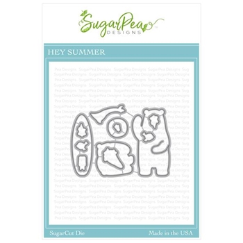 SugarPea Designs HEY SUMMER SugarCuts Dies spd-00359