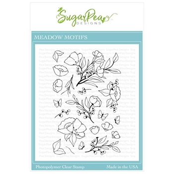 SugarPea Designs MEADOW MOTIFS Clear Stamp Set spd-00353