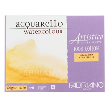 Fabriano WATERCOLOR PAPER 9x12 BLOCK Cold Press 00312330