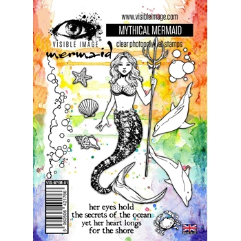 Visible Image MYTHICAL MERMAID Clear Stamps VIS-MYM-01