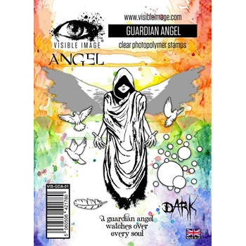 Visible Image GUARDIAN ANGEL Clear Stamps VIS-GDA-01