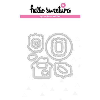 Hello Sweetums SQUEAK CHEEKS Die Set 624033