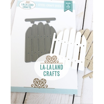 La-La Land Crafts GARDEN GATE Die 8460