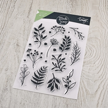 ModaScrap Clear Stamps BRANCHES mstct004