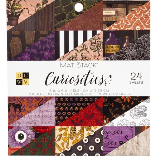 DCWV 6 x 6 CURIOSITIES Mat Stack 615628 Preview Image