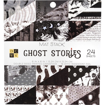 DCWV 6 x 6 GHOST STORIES Mat Stack 615630