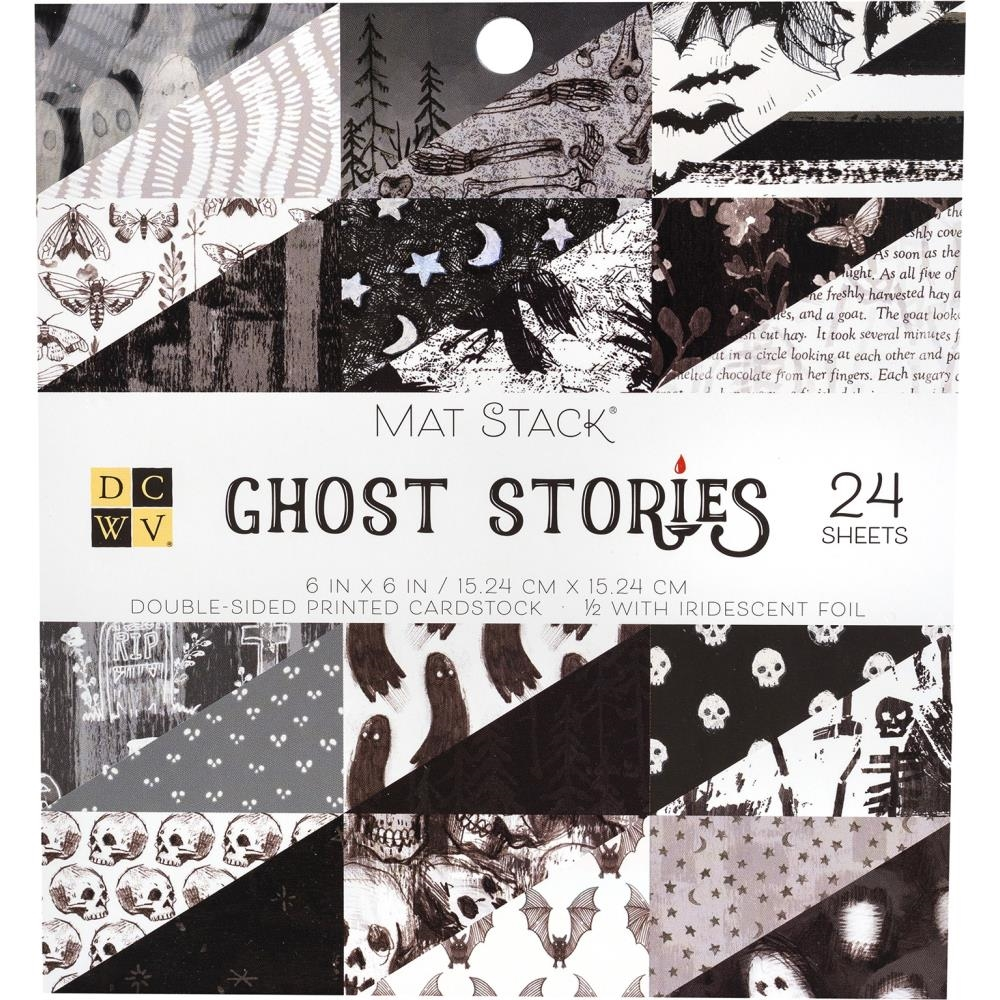 DCWV 6 x 6 GHOST STORIES Mat Stack 615630 zoom image