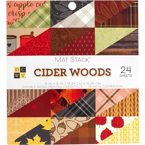 DCWV 6 x 6 CIDER WOODS Mat Stack 615633 Preview Image