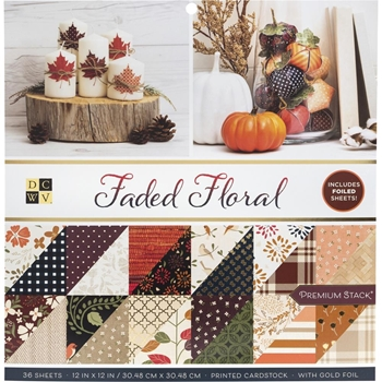 DCWV 6 x 6 AUTUMN DELIGHT Mat Stack 615635