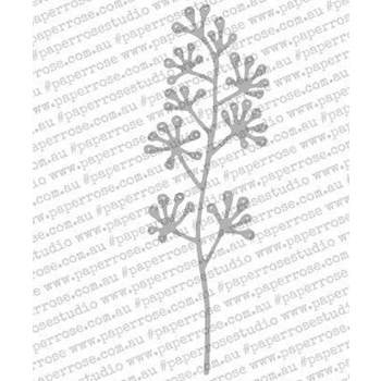 Paper Rose BLOSSOM BRANCH Craft Die 18084