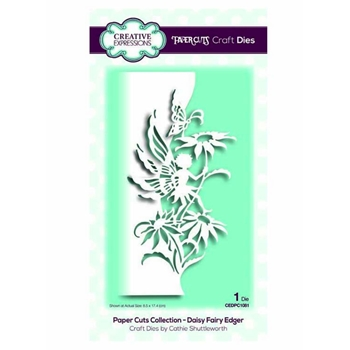 Creative Expressions DAISY FAIRY EDGER Paper Cuts Collection Dies cedpc1081