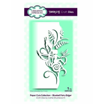 Creative Expressions BLUEBELL FAIRY EDGER Paper Cuts Collection Dies cedpc1080