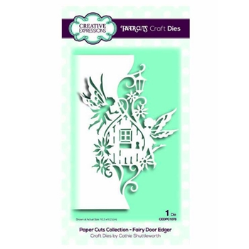 Creative Expressions FAIRY DOOR EDGER Paper Cuts Collection Dies cedpc1078