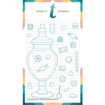 Trinity Stamps CANDY JAR Clear Stamp Set 844669