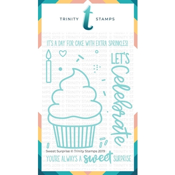 Trinity Stamps SWEET SURPRISE Clear Stamp Set 998301*
