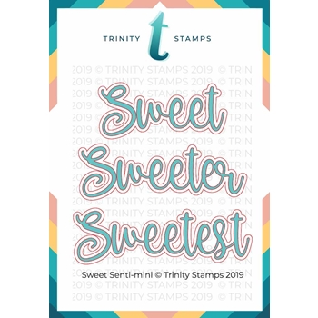 Trinity Stamps SWEET SENTIMINI Die Set 674965