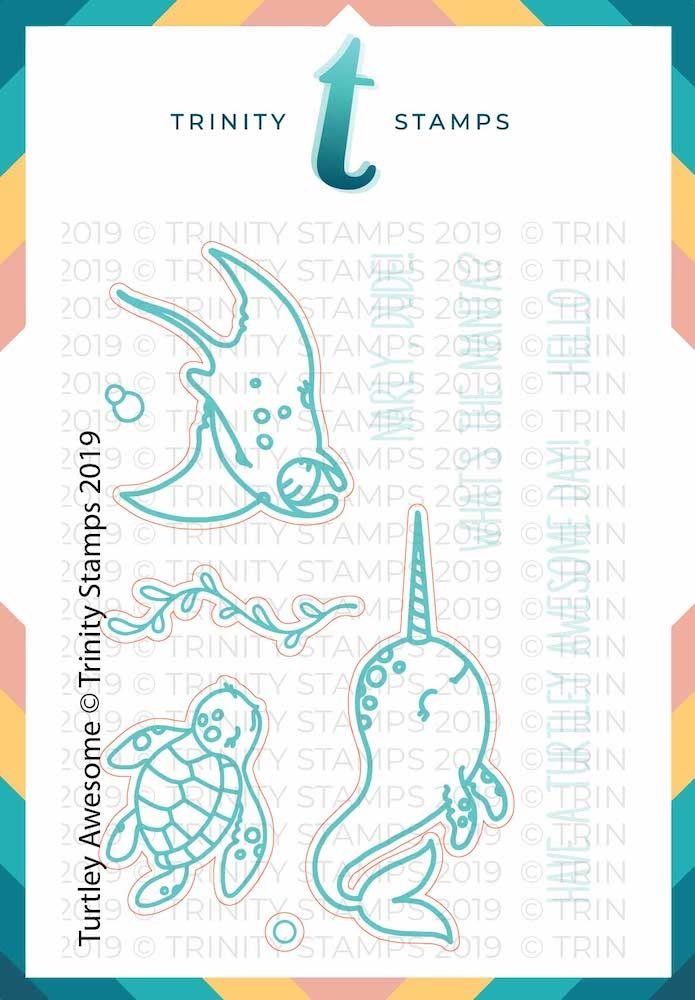 Trinity Stamps TURTLEY AWESOME Die Set 575636 zoom image