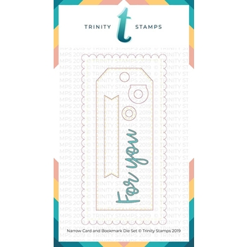 Trinity Stamps NARROW CARD AND BOOKMARK Die Set 791527
