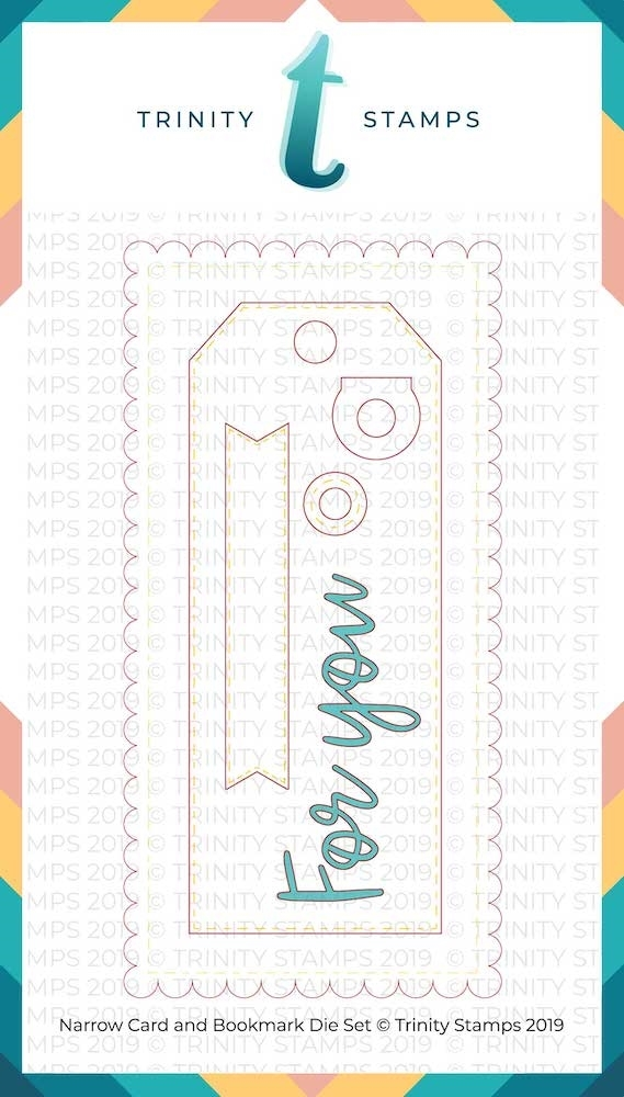 Trinity Stamps NARROW CARD AND BOOKMARK Die Set 791527 zoom image