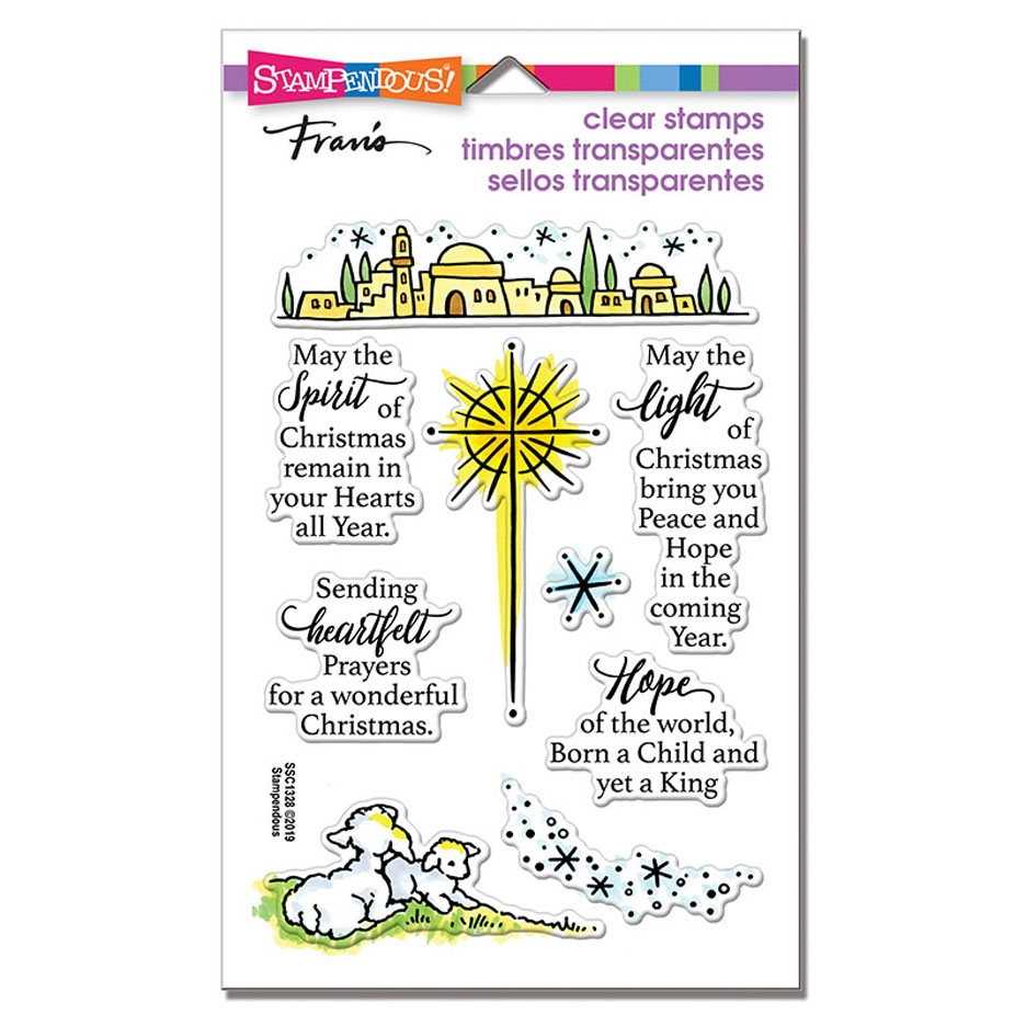 Stampendous Clear Stamps LIGHT AND HOPE ssc1328 zoom image