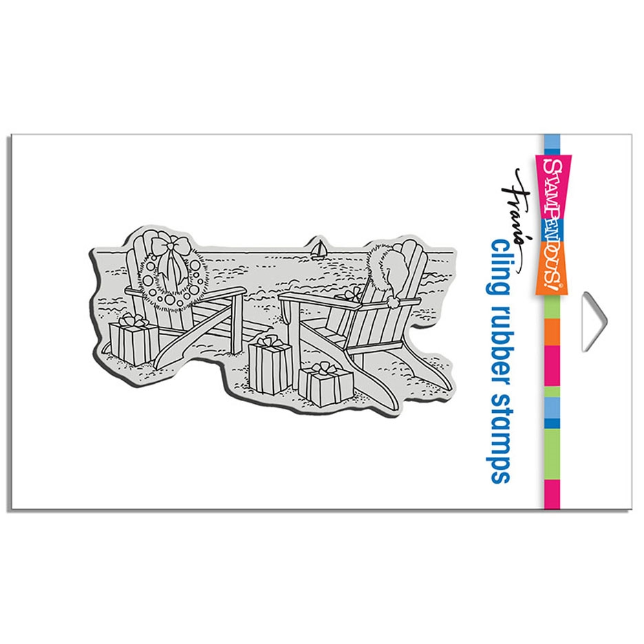 Stampendous Cling Stamp SEASIDE CHRISTMAS crp340 zoom image