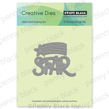 Penny Black YOU'RE A STAR Thin Metal Creative Dies 51-550