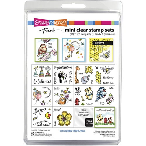 Stampendous Clear Stamps FR MINI SET popst51* Preview Image