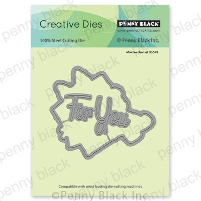 Penny Black A PRESENT CUT OUT Thin Metal Creative Dies 51-544 Preview Image