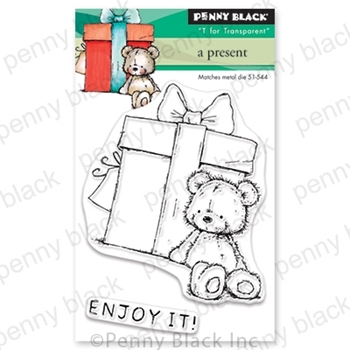 Penny Black Clear Stamps A PRESENT 30-573