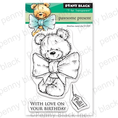 Penny Black Clear Stamps PAWSOME PRESENT 30-569 zoom image