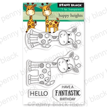 Penny Black Clear Stamps HAPPY HEIGHTS 30-548