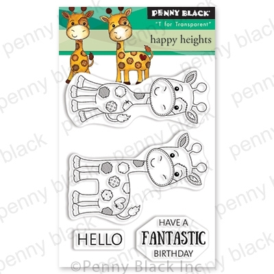 Penny Black Clear Stamps HAPPY HEIGHTS 30-548 zoom image