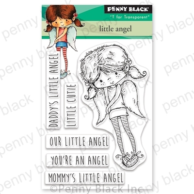Penny Black Clear Stamps LITTLE ANGEL 30-579 zoom image