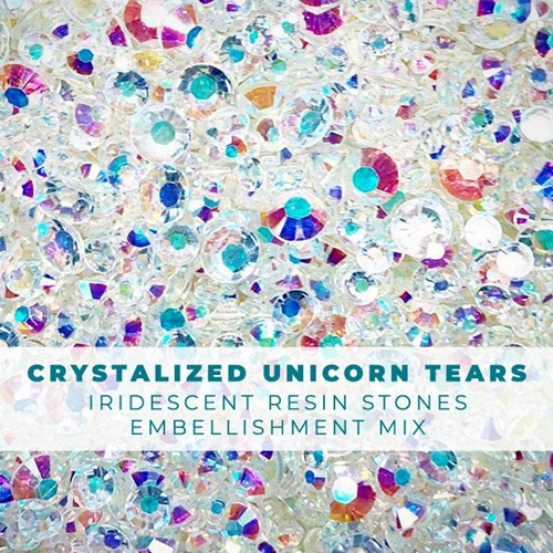 RESERVE Trinity Stamps CRYSTALIZED UNICORN TEARS Embellishment Box 265474 Preview Image