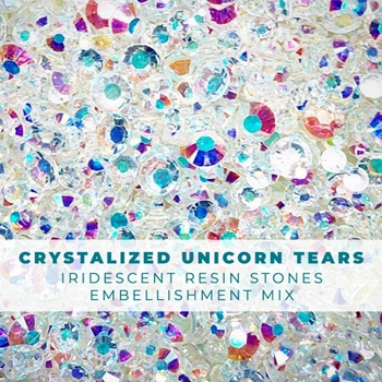 Trinity Stamps CRYSTALIZED UNICORN TEARS Embellishment Box 265474